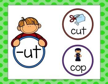 Word Families Fluency & Fitness Brain Breaks Bundle
