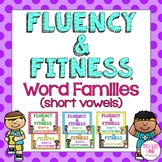 Word Families (Short Vowels) Fluency & Fitness Brain Breaks Bundle