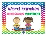 Word Families Fluency Strips