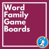 Word Families: Word Family Game for 36 Word Families