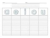 Word Families Graphic Organizer