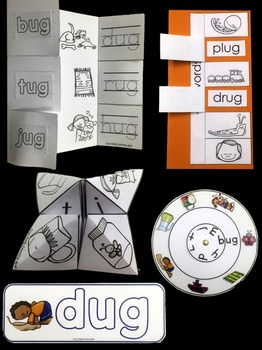 Word Families: Hands-On -UG Activities (Interactive and Differentiated)