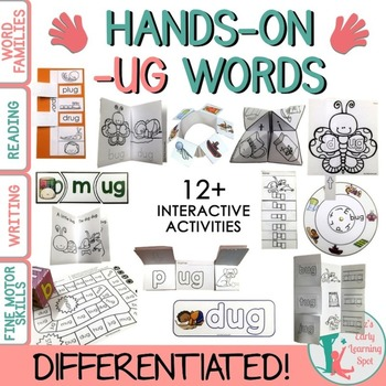 Word Families: Hands-On -UG Activities (Interactive and Di
