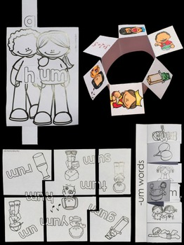 Word Families: Hands-On -UM Activities (Interactive and Differentiated)