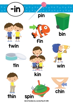 Word Families IN