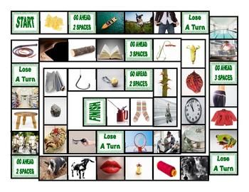 Word Families IP-IT-OAT-OCK-OG-OIL-OKE-OOK-OOL-OOP-ORE-ORN Board Game
