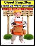 Word Families Literacy Center Activity {Kindergarten/Special Education/Autism}