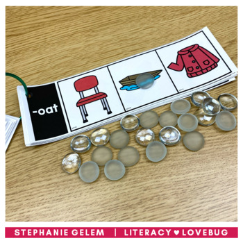 Word Families Long Vowels Clip Strips