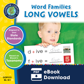 Word Families: Long Vowels Gr. PK-2