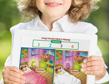 Word Families Long Vowels: What's Different - NOTEBOOK Gr. PK-2