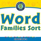 Word Families Long Vowels: Word Families Sort - MAC Gr. PK-2