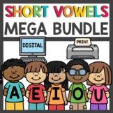 Short Vowel Word Families Mega Bundle