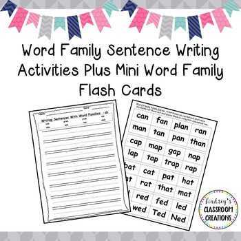 Word Family MEGA Bundle Printable Activities - 21 Different Word Families!!!