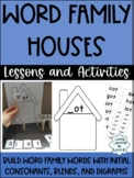 Word Families No Prep Centers and Activity