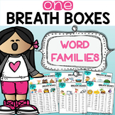 Word Families - One Breath Boxes