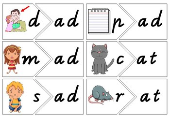 Word Families Onset and Rime Activities