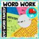 Word Family Short 'a' CVC Word Work Bundle