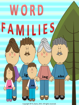 Word Families Package