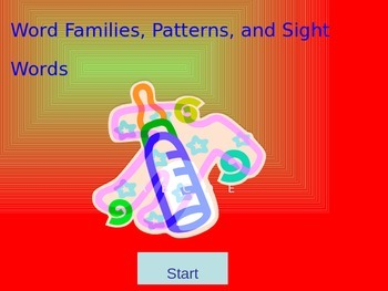 Word Families, Patterns & Sight Words Bundle (English)