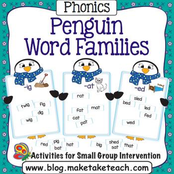 Word Families - Penguin Match