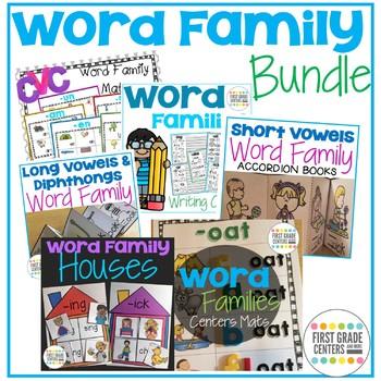 Word Families Phonics Bundle