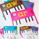 Word Families Activities: Pianos (I)