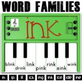 Phonics Activities: Pianos (short / long I)