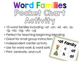 Word Families Pocket Chart Activity