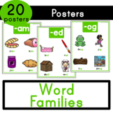 Word Families - Posters and Word Wall Cards