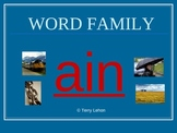 Word Families PowerPoint Activity