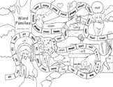 Word Families Printable Board Game 2