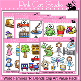 Word Families Clip Art - R Blends Value Pack