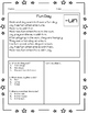 Word Families Reading Comprehension Printables: Vowel I & U Version