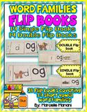 Word Families SINGLE & DOUBLE FLIP BOOKS- 19 SHORT VOWELS FAMILIES- 38 BOOKS