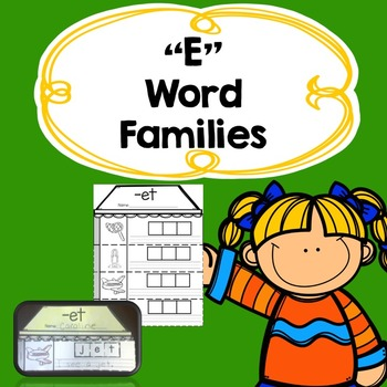 Word Families Sample Pack