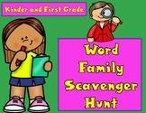 Word Families Scavenger Hunt