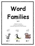 Word Families Set 1