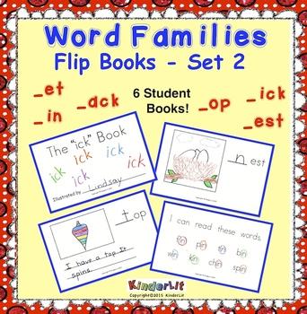 Word Families -  Set 2