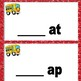 Word Families Set 2 -at and -ap