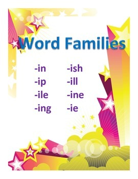 Word Families Set 3