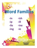 Word Families Set 3