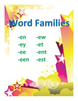 Word Families Set 4
