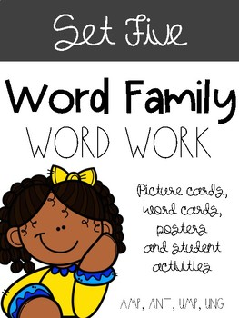 Word Families Set Five
