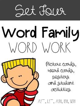 Word Families Set Four