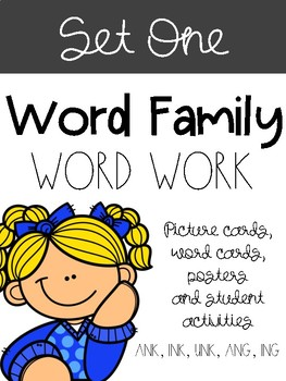 Word Families Set One