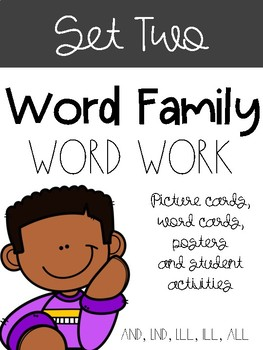 Word Families Set Two