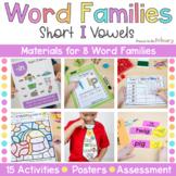 Word Family Activities   Short I   CVC & CVCC Instruction