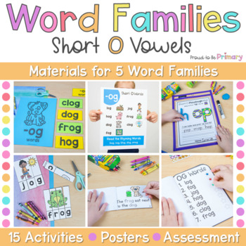 Word Family Activities for Short O
