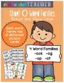 Word Families - Short O Word Family Picture and Word Cards