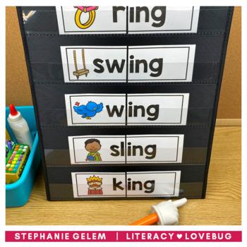 Word Families Short Vowels Activities BUNDLE